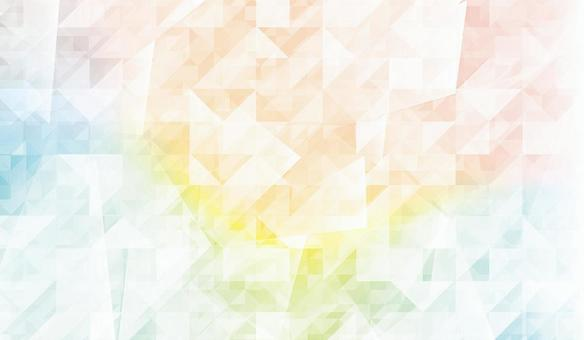 Rainbow fractal design