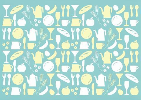 廚房圖標模式