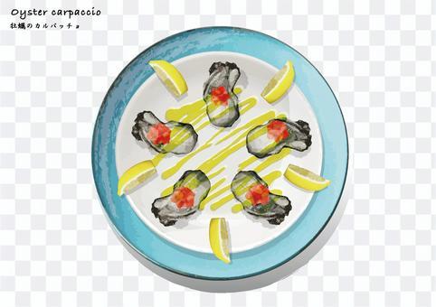 牡蠣生牛肉片派對盤真正