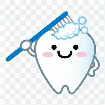 吉祥物的牙齿(牙膏)