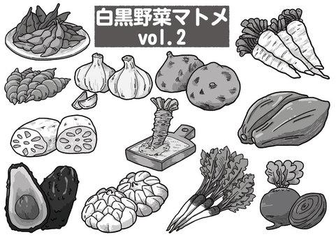 黑白蔬菜概要vol.2