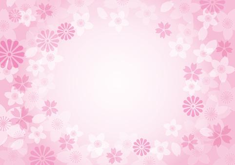 樱花框架材料