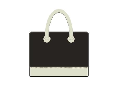 Leather bag 13-4 (black)