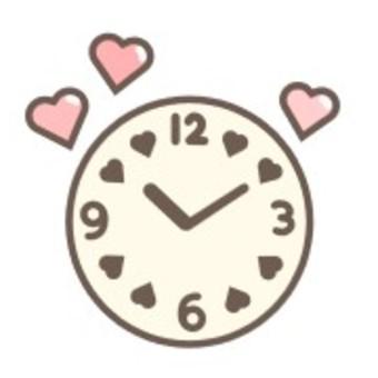 時鐘心秒針時間