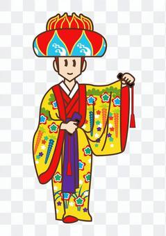琉球舞(一個人)