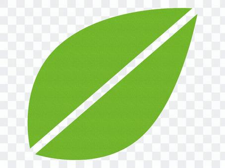 Leaf cloth material