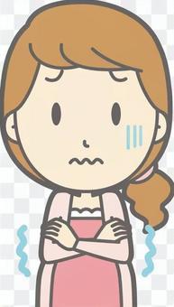 孕婦 - 冷 - 胸圍