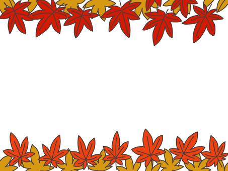 秋葉的插圖框架
