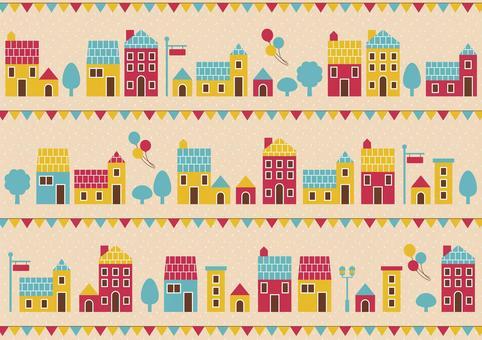 Background pattern building