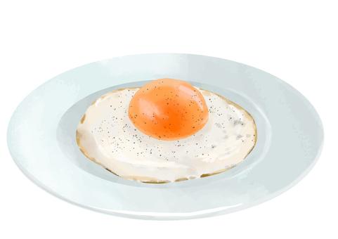 真正的煎蛋