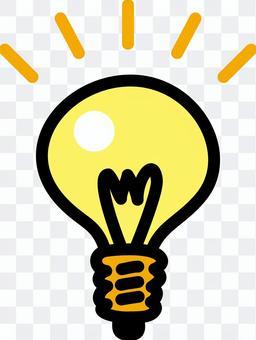 Light bulb _ Freehand