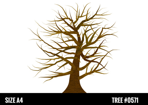 Tree tree illustration picture book style