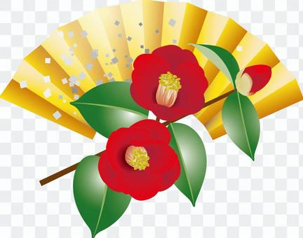 New Year decoration _ flowers _ camellia