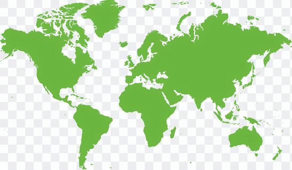 美國標準世界地圖