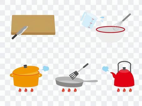 Various kitchen