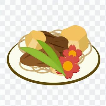 蔬菜和肉類庫克組合