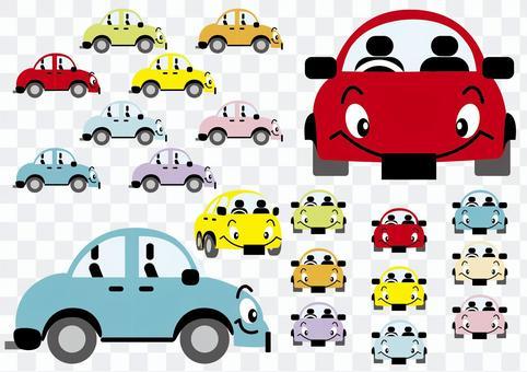 汽車的各個方向