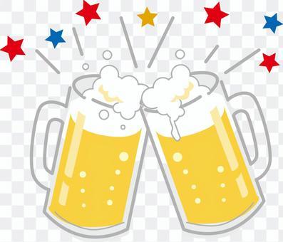 敬酒與啤酒