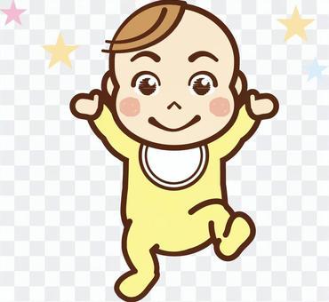 嬰兒開朗/嬰兒衣服