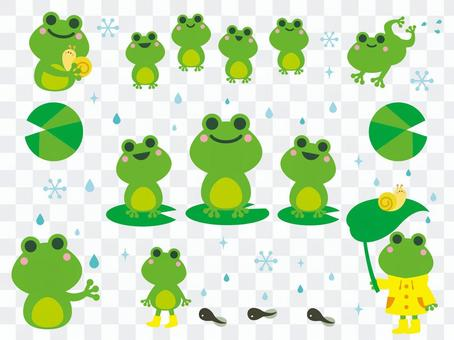 Frog Illustration Collection (2)