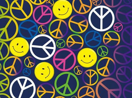 Peace&Nico Chan☆背景