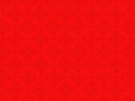 앤티크 풍의 패턴 64 빨강 계열