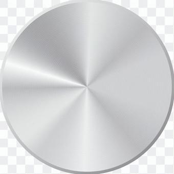 銀色金屬風鈕