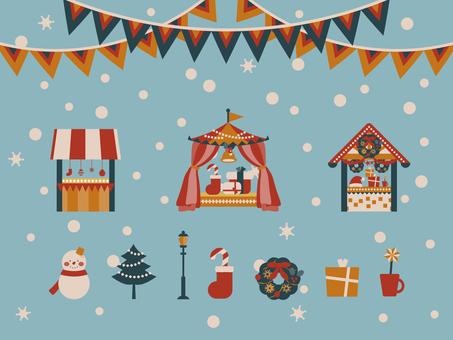 聖誕市場集