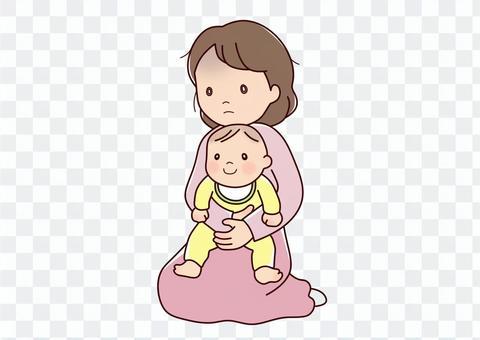 嬰兒和媽媽的情感