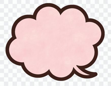 氣球粉紅色日本紙