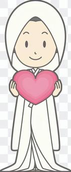 白色純淨 - 心臟 - 全身