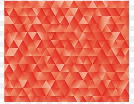 Red geometric pattern