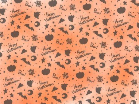 橙色萬聖節壁紙