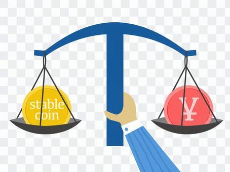穩定的硬幣日元聯鎖模式
