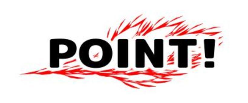 POINT! Logo mark
