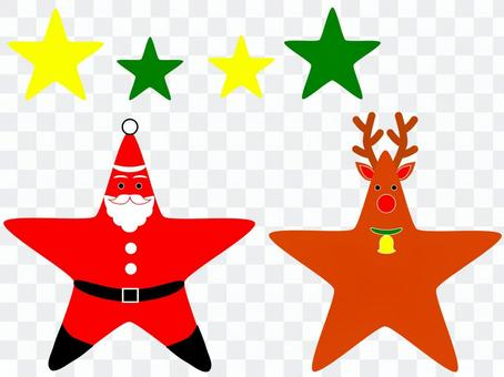 ☆聖誕老人和馴鹿