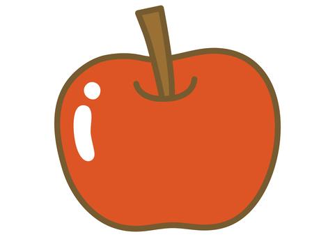 可愛的蘋果圖