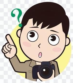 指點女攝影師(懷疑)