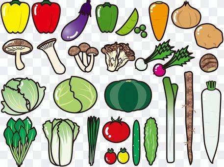 蔬菜(PNG是透明的,沒有背景)