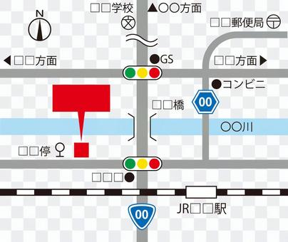 Map data production set ☆ production material ☆ classic!