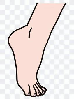 高跟鞋踝部提升高跟鞋踝部提升
