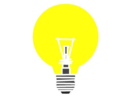 Impressive light bulb icon