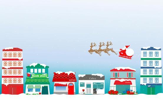 クリスマス、サンタクロース、トナカイ