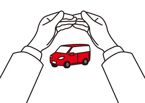 保護汽車的圖片