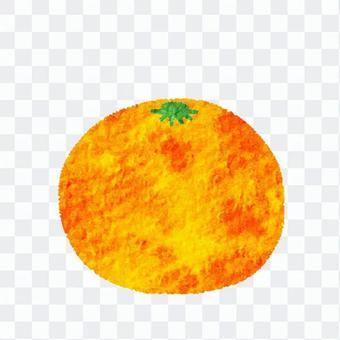 かわいい 果物 みかん