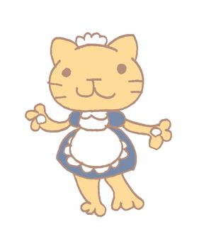 Maid cat