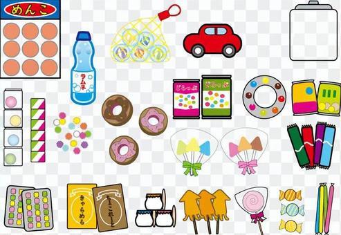 Dandy sweets, children's toys set