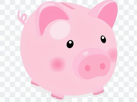 Pig piggy bank icon