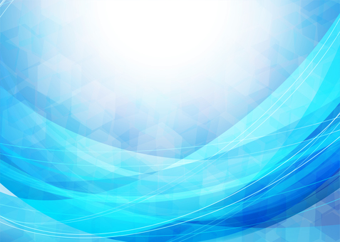 藍色抽象波浪