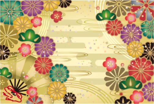 日本模式賀卡